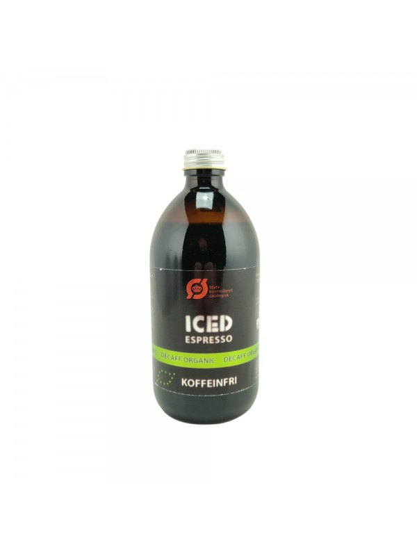 Iced Espresso Koffeinfri Økologisk Original 16 shots ½ liter-314